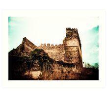 Burg Altwied, Germany Art Print
