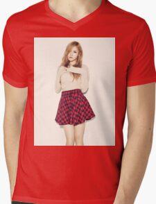 Fiestar - Yezi - KPOP Idol - Full Color Mens V-Neck T-Shirt