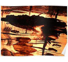sunlit goddess...... inland isle reflections Poster