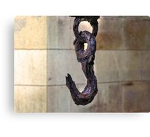 Old and Rusty Hook Canvas Print