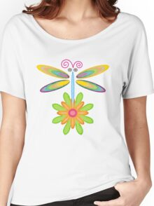 Wacky Dragonfly Women's Relaxed Fit T-Shirt