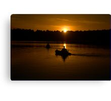 Tranquility - Narrabeen Lakes, Sydney - The HDR Experience Canvas Print