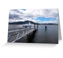 The dedicated MONA ferry Greeting Card