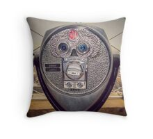Quarters Only, New York City photograph Throw Pillow