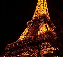 Golden Eiffel II by Michael Matthews