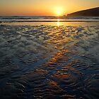 Sandy Sunset by Chriskeates