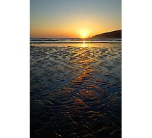 Sandy Sunset Photographic Print