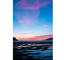 Sunset At Wonwell Photographic Print