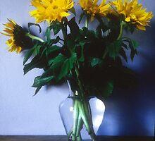 Sunflowers by Christina Backus
