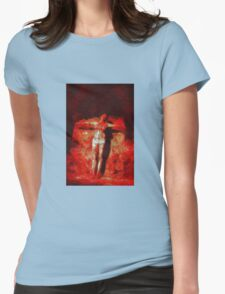 Female Christ by Mary Bassett Womens Fitted T-Shirt