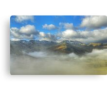 Langdale Skyline Canvas Print