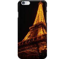 Golden Eiffel II iPhone Case/Skin