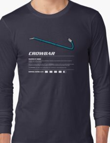 Zombie Weapons - Crowbar Long Sleeve T-Shirt