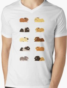 Guinea pigs Mens V-Neck T-Shirt