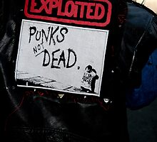 Punk's Not Dead by Melynda