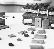 Food Composition - Cake House by Nicoras Calin
