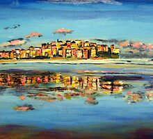 Bondi Reflection by gillsart