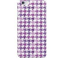 Chanel Fashion Print -   Purple Houndstooth Pattern iPhone Case/Skin