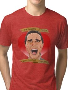 American Psycho Patrick Bateman Tri-blend T-Shirt