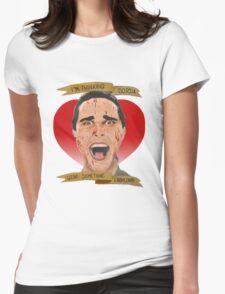 American Psycho Patrick Bateman Womens Fitted T-Shirt