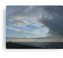 Cool Sunset from Clacton Pier  Canvas Print