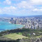 The City Of Waikiki, Hawaii. by cassidyfritts