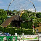 Erlangen Fair Ferris Wheel, Germany. by David A. L. Davies