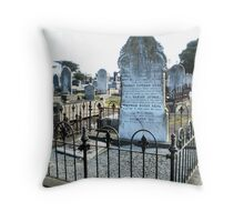 A Family's Final Resting Place Throw Pillow