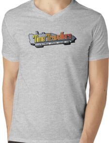 Time Travellers Mens V-Neck T-Shirt