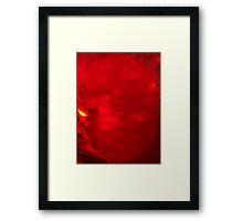 Meanwhile on Mars... Framed Print