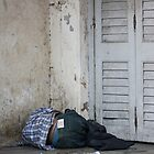 Poverty With Fake Levis, Ahmedabad, Gujurat, India by RIYAZ POCKETWALA