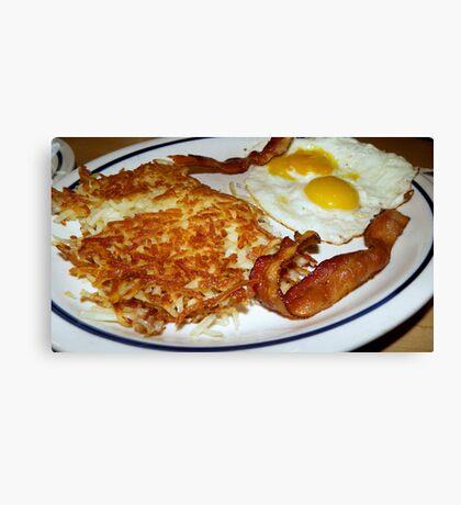 breakfast combo Canvas Print