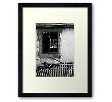 Through a Glass Darkly Framed Print