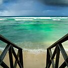 &quot;Storm at the Spot&quot; - West Island, Cocos (Keeling) Islands by Karen Willshaw