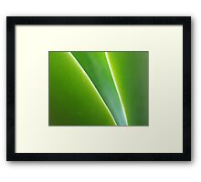 Peace and Space Framed Print