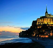 Le Mont Saint Michel France by James  Key