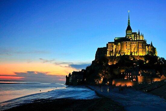 Le Mont Saint Michel France by James  Key