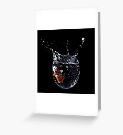 Drop! Greeting Card
