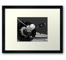 B-25 propeller Framed Print