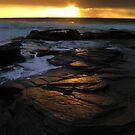 Ocean sunrise in Mossel Bay by Gustav Snyman