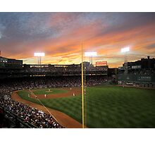 Sunset at Fenway  Photographic Print