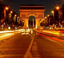 Arc De Triomphe (Paris, France) by Jacinthe Brault