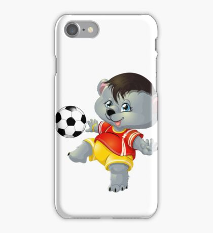 bear and ball iPhone Case/Skin