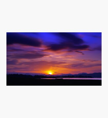 Spring Sunset 1 Photographic Print