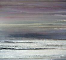 """Lake"", 2005, Oil/Wood, 170 x 220 cm by Christian v. Grumbkow"