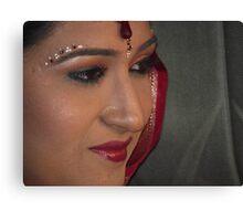 Indian Bride Canvas Print