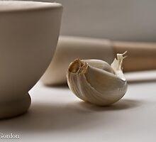 In the kitchen by Justine Gordon