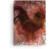 Rhode Island Red Bird Canvas Print