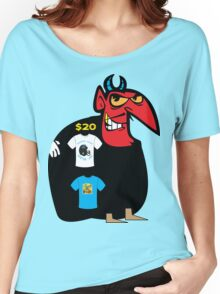 devil tshirt by rogers bros Women's Relaxed Fit T-Shirt