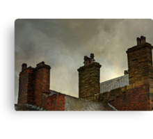 Under the roofs of Blackburn. Canvas Print